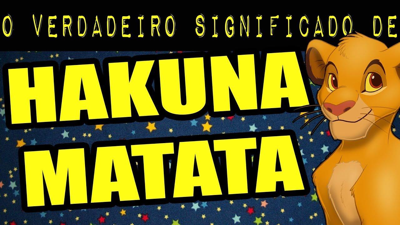 Hakuna Matata O Significado Oculto Meteoro Youtube