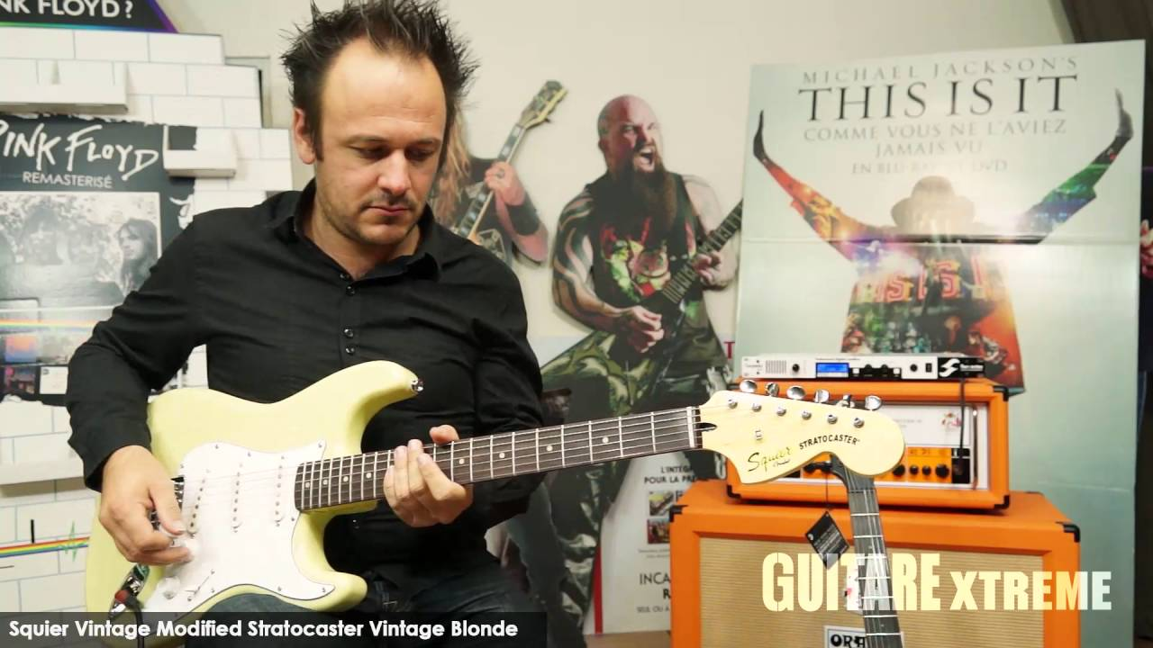 Guitare Xtreme Magazine #77 - Squier® Modified Statocaster ...