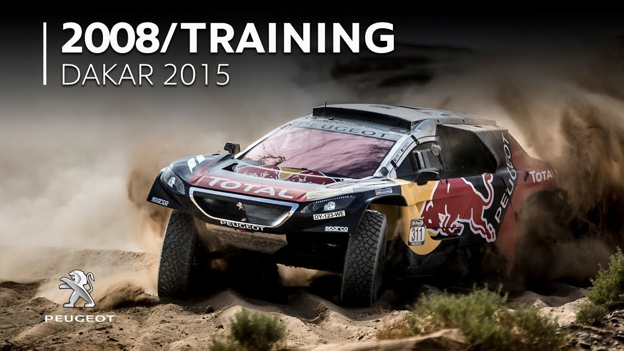 Peugeot 2008 Dkr Dakar 2015 Youtube