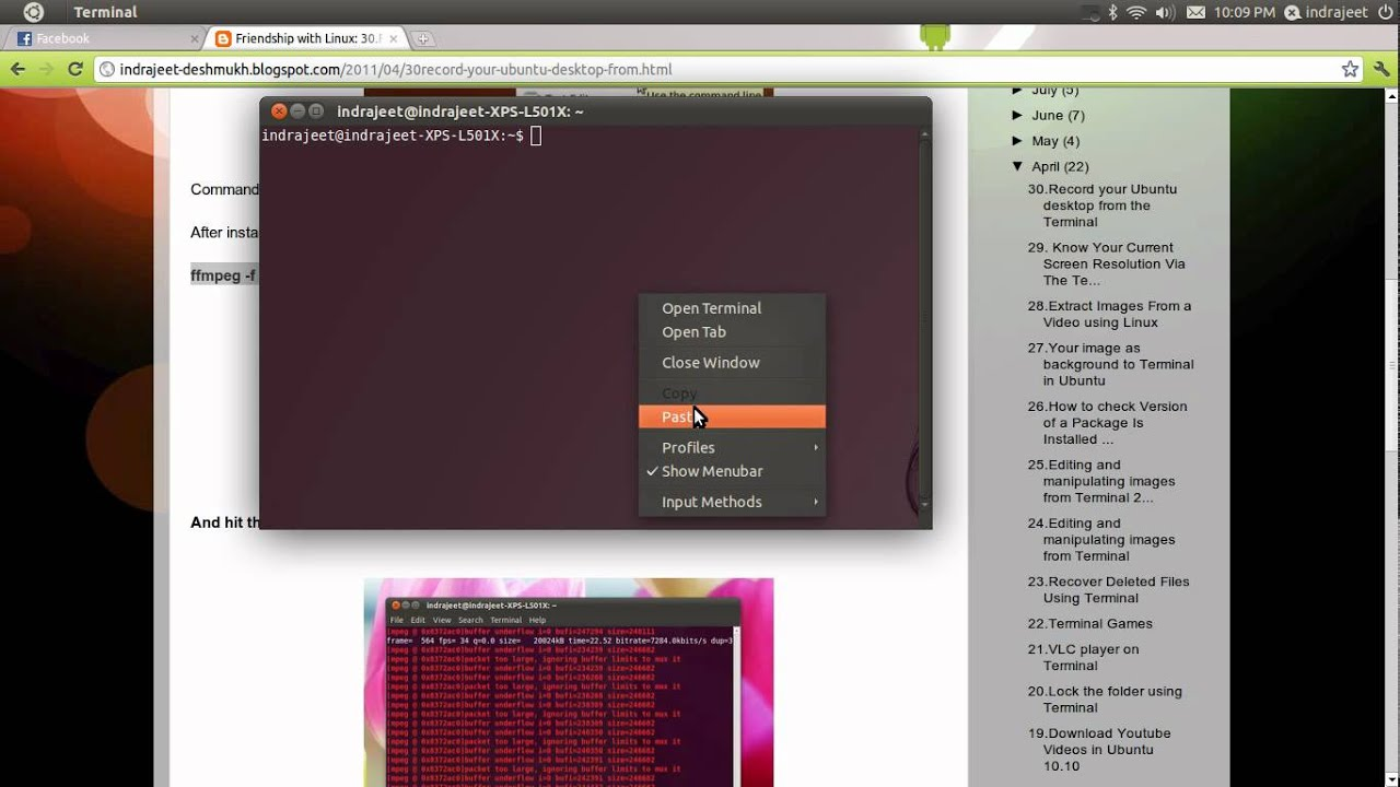 Friendship with Linux: September 2011