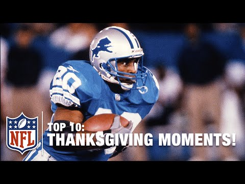 Top 10 Thanksgiving Moments | NFL