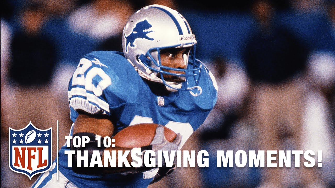 09634e19 Top 10 Thanksgiving Moments | NFL - YouTube