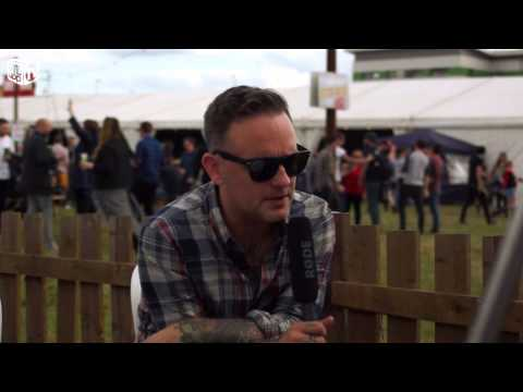 Dave Hause interview at Reading Festival 2014
