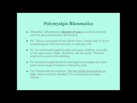 Polymyalgia Rheumatica - CRASH! Medical Review Series