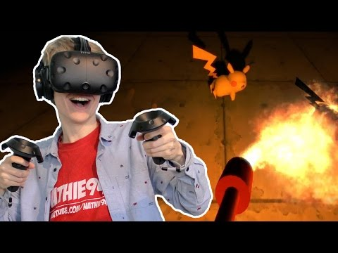 POKEMON HORROR GAME IN VIRTUAL REALITY | 5 Weirdest VR Games (HTC Vive Gameplay)