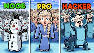 Frozen 2! (NOOB vs PRO vs HACKER)