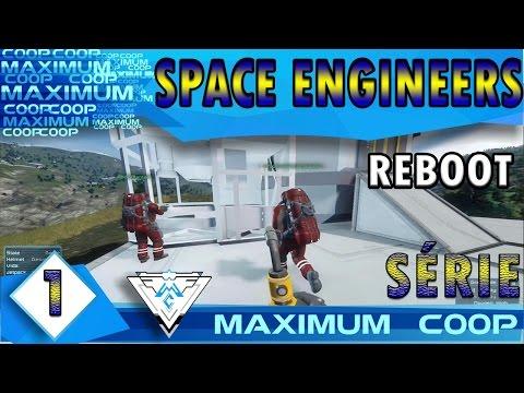 SPACE ENGINEERS COOP #1 - UM NOVO JOGO E UM NOVO COMEÇO!! / PT-BR 1080p