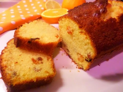 Orange Raisin Cake Recipe