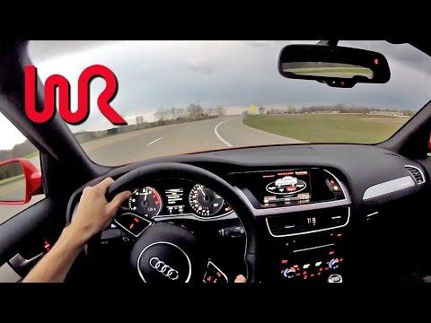 2014 Audi S4 Quattro Manual - WR TV POV Test Drive 1/2