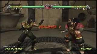 Mortal Kombat Deception - Scorpion Arcade Ladder (XBOX)