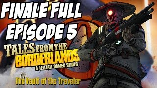 Tales from the Borderlands Episode 5 Gameplay Walkthrough Part 1 Finale Vault of the Traveler