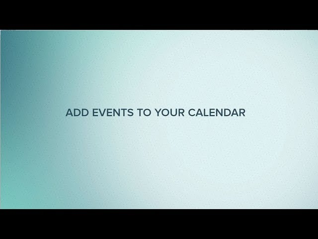 Cut Time How-To Tutorial: Add Events to Your Calendar