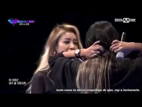 |Sub Español | Yubin vs HyoRin Diss Battle [ Unpretty Rapstar Vol. 2]