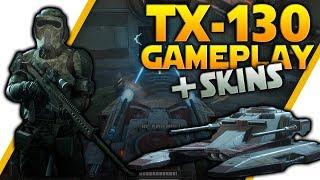 TX-130 GAMEPLAY + All New Skins Gameplay - Star Wars Battlefront 2