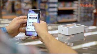 Ανακαλύπτουμε το iPhone Xs Max στα Public!