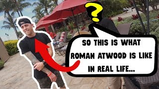 What Roman Atwood Is Like In Real Life *Outside Of The Vlogs*