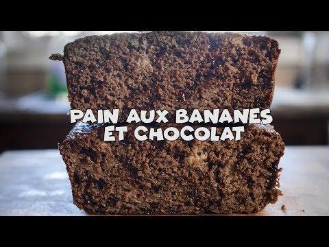 pain-santé-aux-bananes-et-chocolat