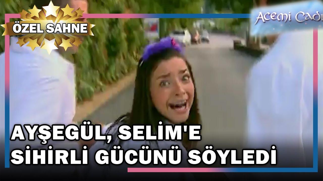Ayşegül, Selim'e Sihirli Güçlerini Söyledi! - Acemi Cadı Özel Klip
