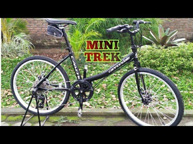 Sepeda Mini Trek Minitrek Mini Track Mini Trek 24 Mini 24 Youtube