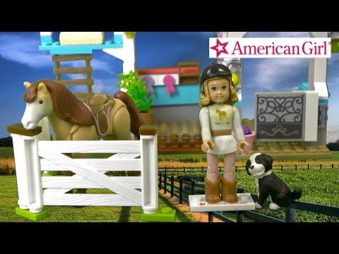 American Girl Nicki's Horse Stables From MEGA Bloks