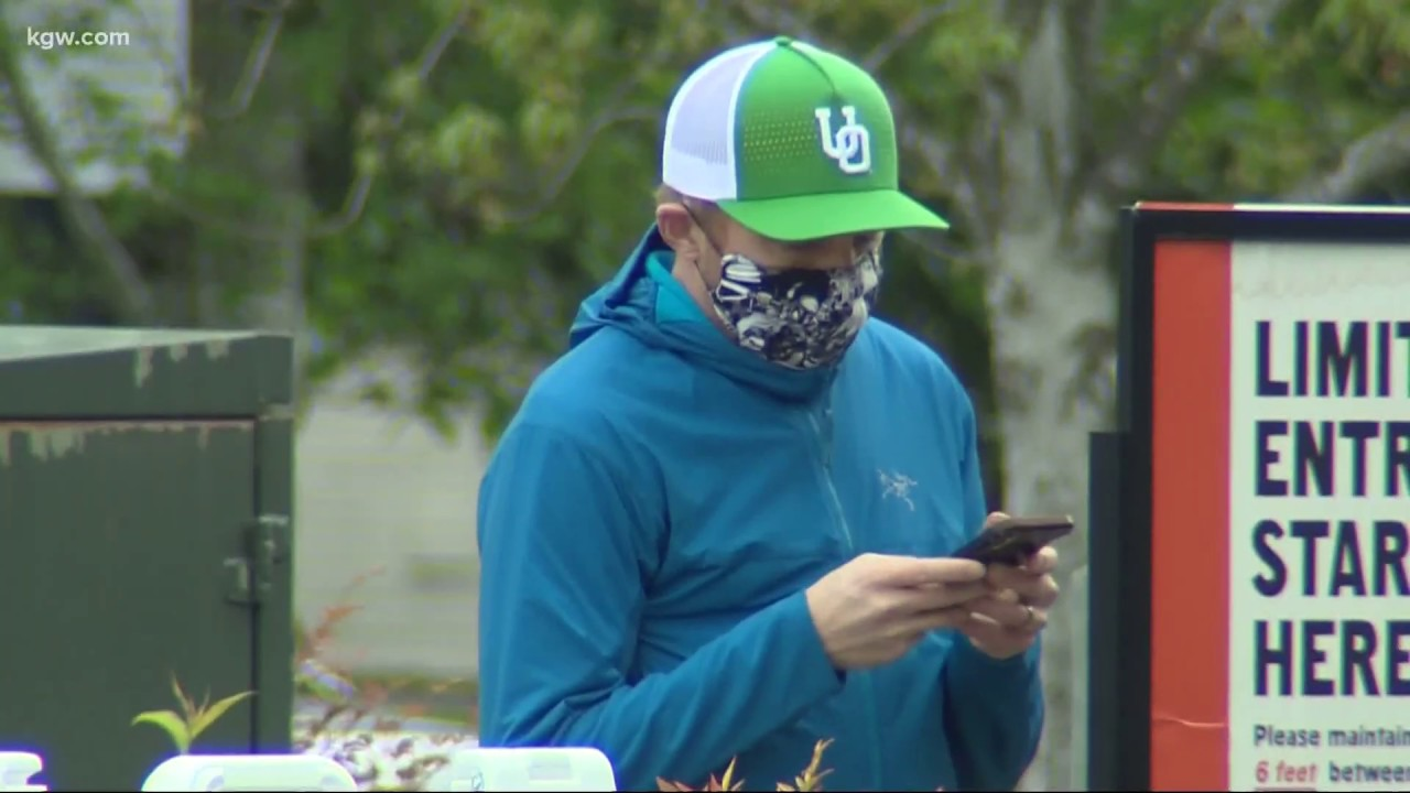 Oregon man jailed after refusing to wear face mask in court