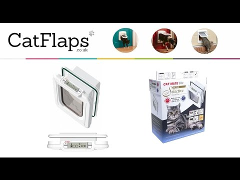 How to program Cat Mate 355 Elite Microchip Cat Flap