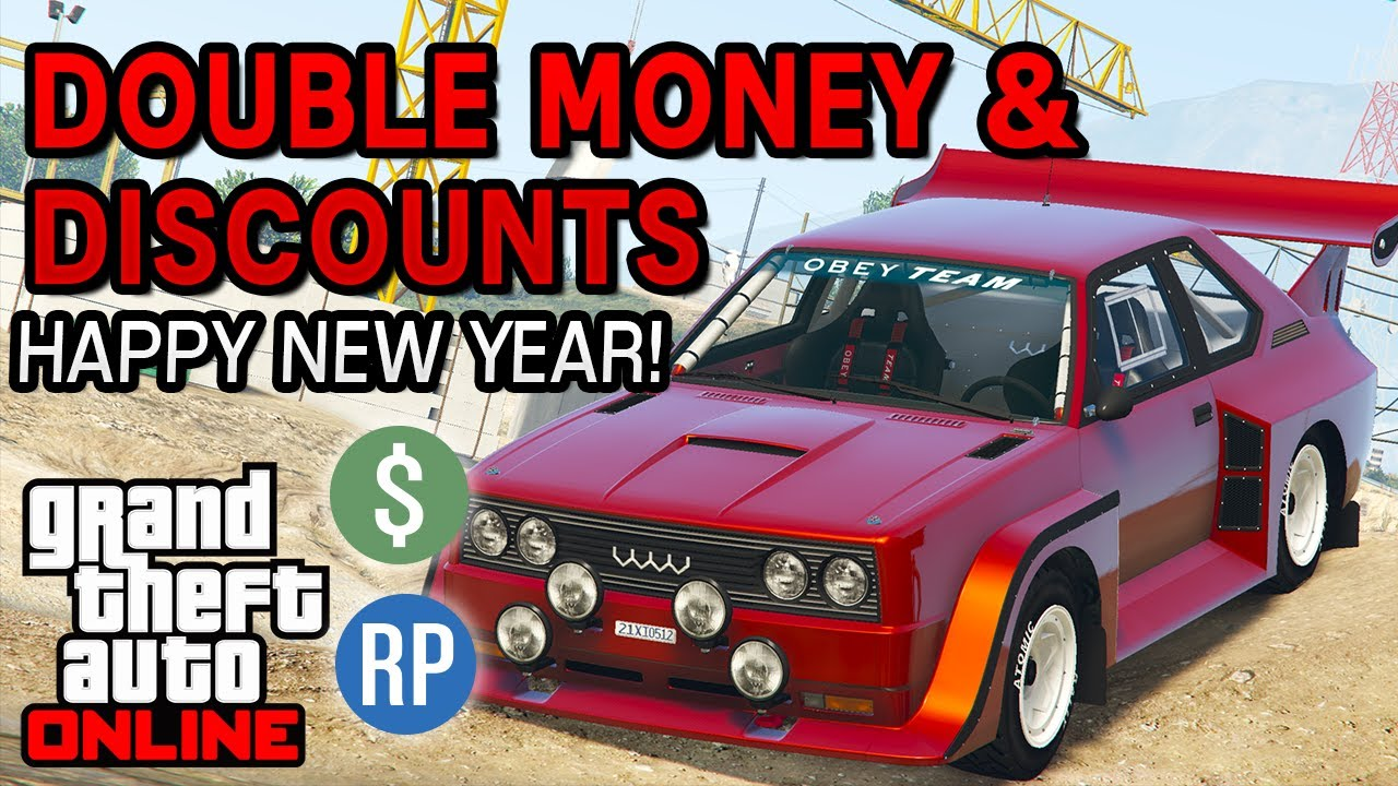 GTA Online Double Money and Discounts This Week (GTA 5 Event Week) | Dec 31st - Jan 6th