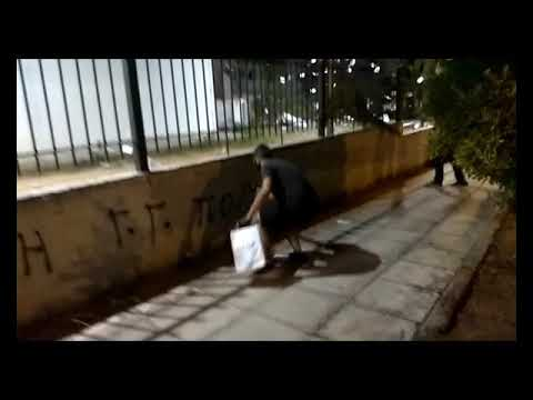 NEWPOST: Παρέμβαση στο κέντρο επιχειρήσεων της πολιτικής προστασίας στο Χαλάνδρι