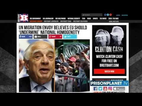 Shocker UN Admits Migrant Crisis Plan To Overthrow West