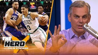 Colin Cowherd lists his Top 5 NBA players on their rookie contracts in 2019-2020 | NBA | THE HERD
