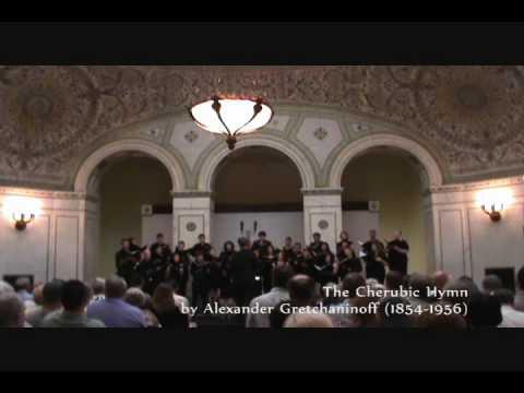 The Cherubic Hymn by Alexander Gretchaninoff (1864-1956)