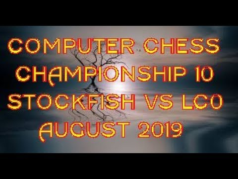 Chesspuzzler: Computer Chess  Championship 10 Game 97-Stockfish vs Lc0. In One Word Busted!!Chess