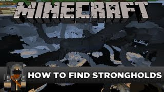 minecraft how to find strongholds without eye of ender