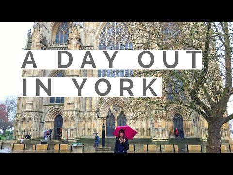 Things To Do in York | The Shambles, Clifford's Tower, Fairfax House | Visit York | UK Travel Vlog