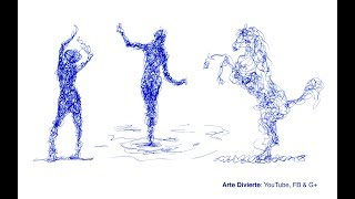 Cómo dibujar garabateando - Un excelente ejercicio - Narrado