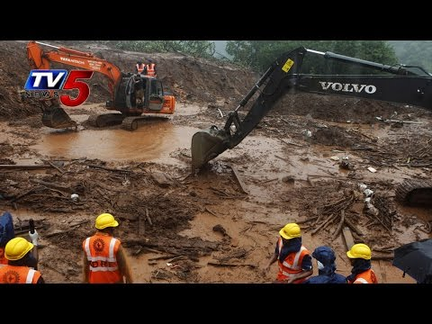 Landslide Tragedy In Pune | Rescue Works Continues In 'Malin' Village : TV5 News