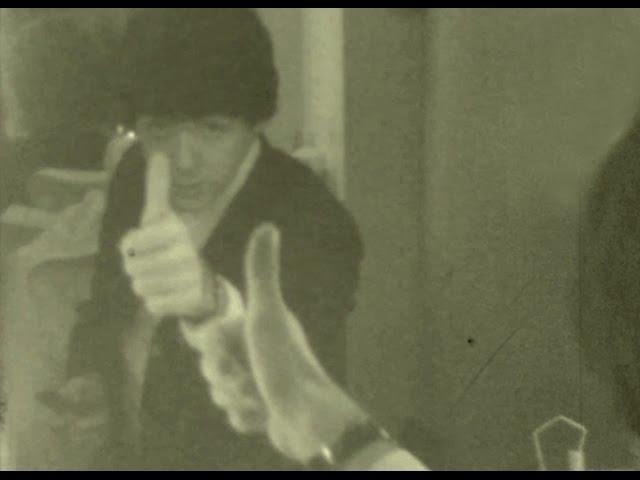El vide inédito de los Beatles antes de un concierto en 1965
