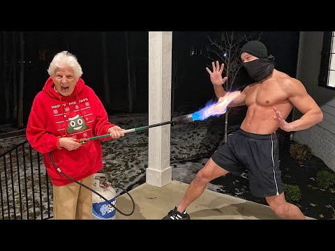 Grandma's Home Alone Self-Defense  | Ross Smith
