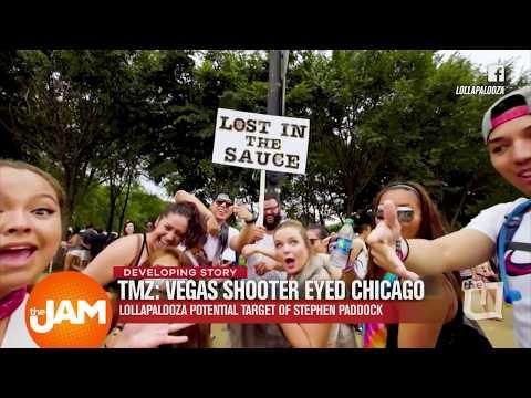 Developing Story: Vegas Shooter Eyed Lollapalooza