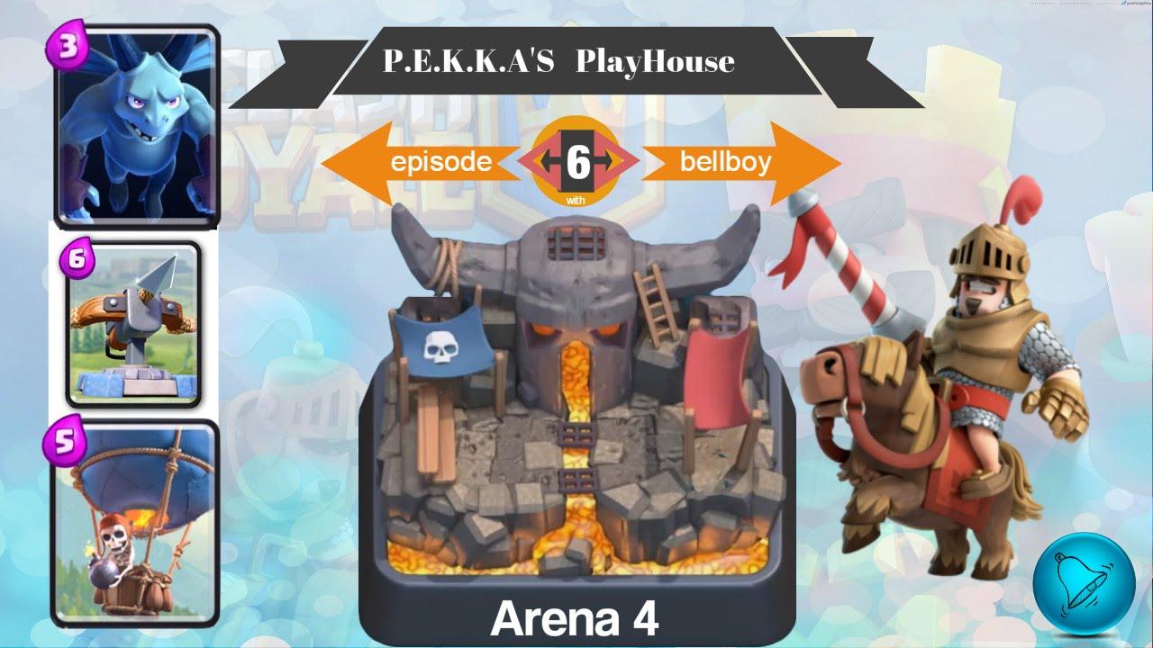 Clash Royale Arena 4 Pekka Playhouse Card Deck 3 Crown