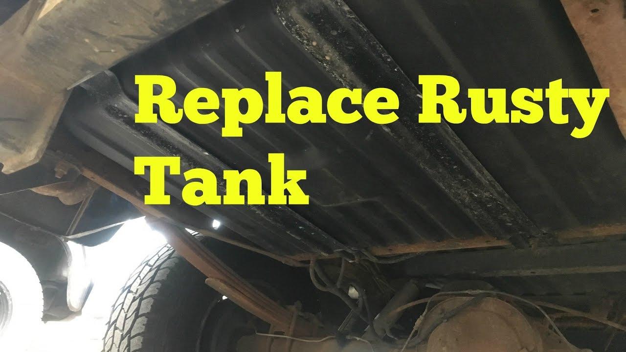 Tank Leaking Replace Rear Fuel Tank F150