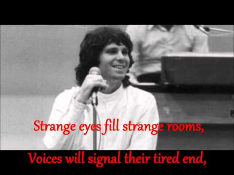 The Doors - Strange days (lyrics)