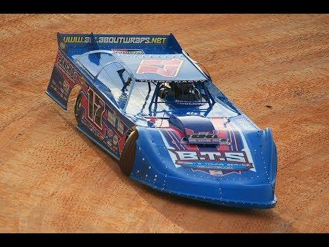 Logan Roberson In-Car / 411 Motor Speedway / J.T. Kerr Memorial 6.23.18