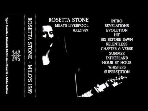 Rosetta Stone - Milo's, Liverpool, UK (22 March 1989) (High Quality Tape Transfer)