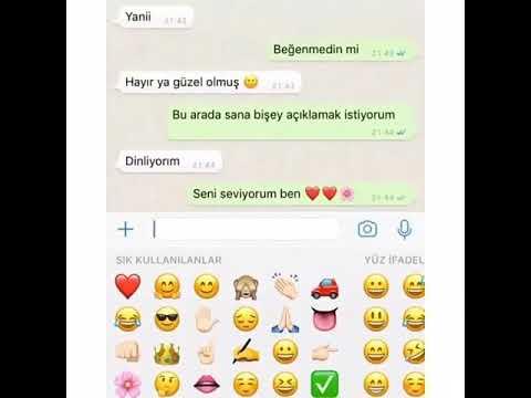 Whatsapp Status - Bende Seni Seviyorum