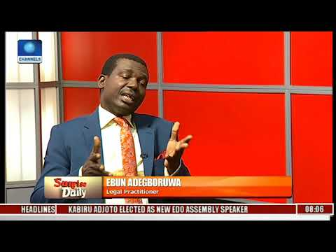 APC Has Lost The Moral Right To Retain Power-- Adegboruwa Pt.2 l Sunrise Daily l