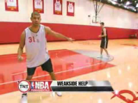 NBA Fundamentals: Shane Battier - Taking a Charge