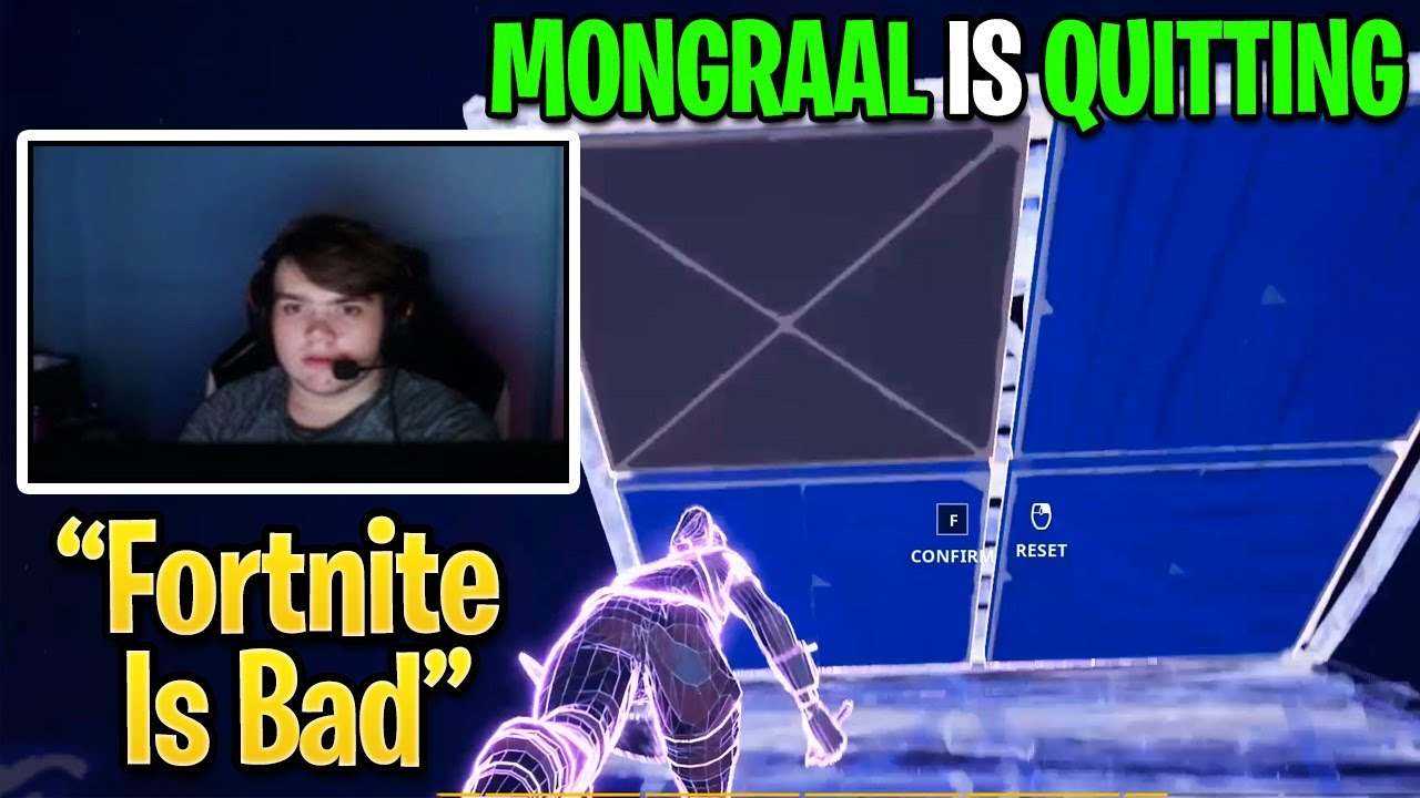 Mongraal is QUITTING Fortnite To Pursue His Passion After This Happened