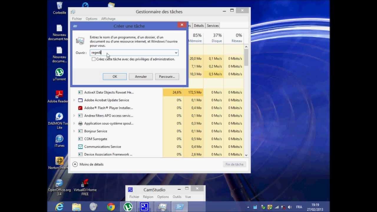 Comment augmenter la r solution cran sur windows 7 et 8 for Ecran pc taille