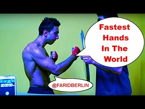 Fastest Hands in the World | Human machine gun PUNCH! 2